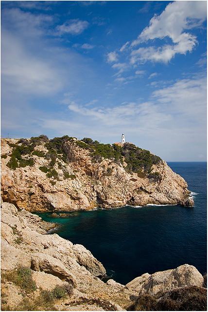 Cala Ratjada - Lighthouse at Cap Capdepra