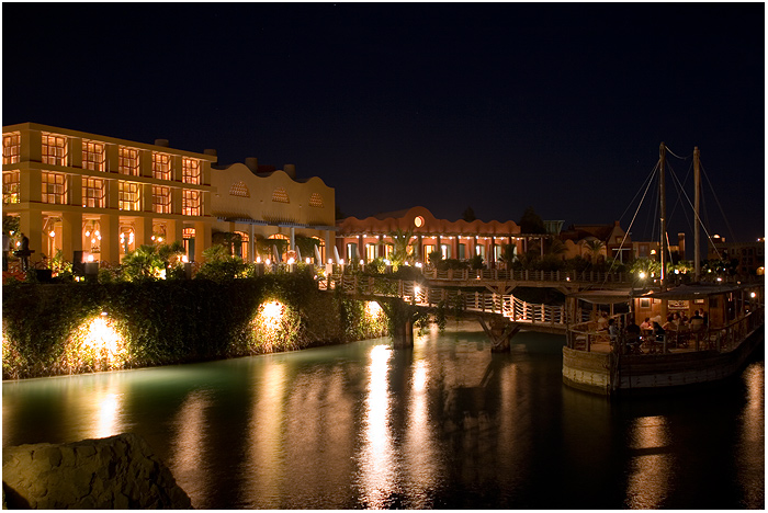 Egypt - El Gouna - Sheraton @night