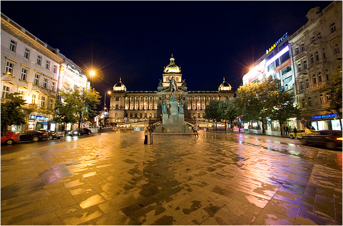 Czech Republic - Prague - Wenceslas square