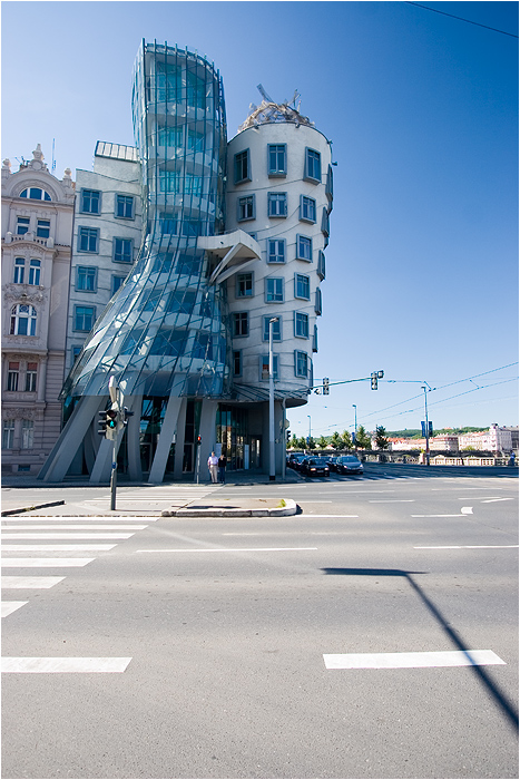 Czech Republic - Prague - Milunić and Gehry's Dancing House